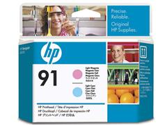 HP Printkop 91 Single Pack C9462A licht cyaan, licht magenta