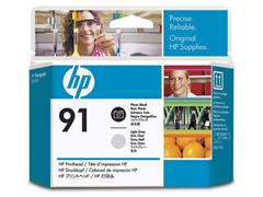 HP Printkop 91 Single Pack C9463A cyaan, fotozwart
