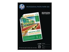 HP Professional Glossy Laser Snapshot fotopapier A4, 200g/m², CG966A (pak 100 vel)