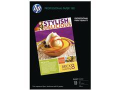 HP Professional Inkjet A3 180 g/m² Wit Glanzend 50 vel (pak 50 vel)