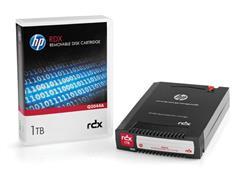 HP Q2044A RDX Datacartridge, 1 TB / 2 TB, Zwart