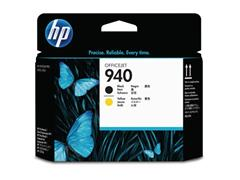 HP Printkop 940 Single Pack C4900A zwart, geel
