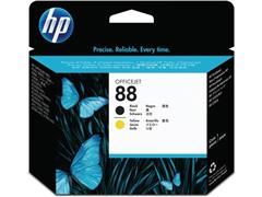 HP Printkop 88 Single Pack C9381A zwart, geel