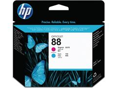 HP Printkop 88 Single Pack C9382A cyaan, magenta