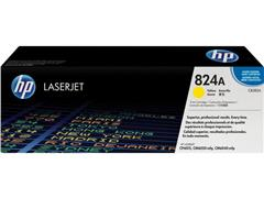 HP 824A Toner, Single Pack, Geel