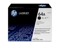 HP 64A Toner, hoog rendement, single pack, zwart