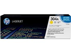 HP 304A Toner, Single Pack, Geel