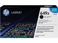 HP 649X Toner, hoog rendement, single pack, zwart
