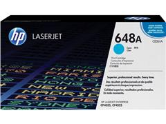 HP 648A Toner, Single Pack, Cyaan