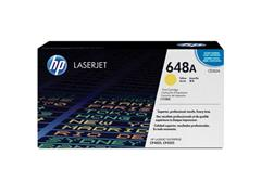 HP 648A Toner, Single Pack, Geel