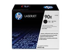 HP 90X Toner, hoog rendement, single pack, zwart
