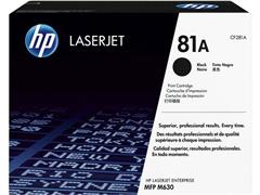 HP 81A Toner, Hoog Rendement, Single Pack, Zwart