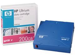 HP C7971A LTO-1 Ultrium RW Datacartridge, 100/200 GB, Blauw