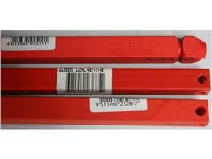 IDEAL Snijlat, Ideal 4305,42/4315,42/4350, 570 mm, Rood