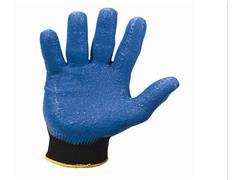 JACKSON SAFETY* G40 SMOOTH Nitrile Handschoenen, Nitrilrubberen coating, Blauw, maat 9 (doos 5 x 12 paar)
