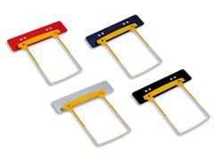 Jalema Buismechaniek Clip Clip Plus, met inhangstrip voor ordner (pak 100 stuks)