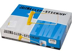 Jalema Buismechaniek Clip Clip Stickup, zelfklevend (pak 100 stuks)