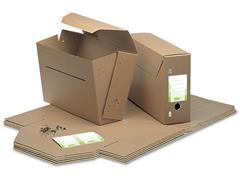Jalema Archiefdoos, Karton, 265 x 115 x 370 mm, Bruin (doos 50 stuks)