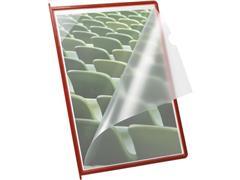 Jalema Infotas A4 voor Bureaustandaard Superior, Polypropyleen, Rood (doos 10 stuks)