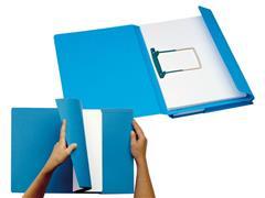 Jalema Secolor Combi, Hechtmap, zuurvrij, 2 x 200 vel, folio, blauw (pak 40 stuks)