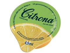 Citroencupjes 4,9 ml per cup (doos 120 stuks)