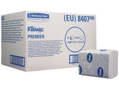 Kleenex® Premier Toilettissue wit, gevouwen (doos 24 x 200 stuks)