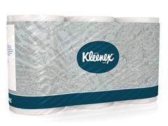 Kleenex® Toiletpapier wit (pak 6 rollen)