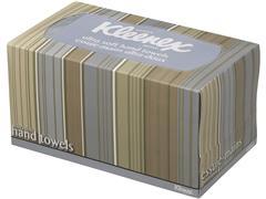 Kleenex® Gevouwen handdoeken in dispenserdoos 70 vel (pak 70 vel)