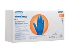 KLEENGUARD* G10 FleX Nitrile Wegwerphandschoen, Maat L, Blauw (pak 100 stuks)