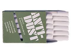Krijt anti-dust Wit (pak 48 stuks)