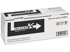 KYOCERA TK 5140 Toner, Single Pack, Zwart