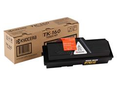 KYOCERA TK 160 Toner, Single Pack, Zwart