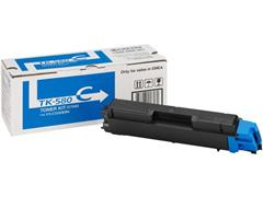 KYOCERA TK 580 Toner, Single Pack, Cyaan