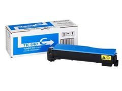 KYOCERA TK 540 Toner, Single Pack, Cyaan