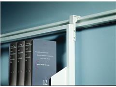 Legamaster Legaline Professional Bovenste Ophangbeugels, Aluminium, 150 x 30 x 30 mm, Wit (pak 2 stuks)