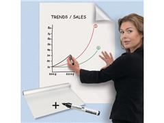 Legamaster Magic-Chart Whiteboard Presentatiefolie, 600 x 800 mm, Wit (rol 25 vel)