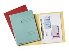 Leitz Kartonnen hechtmap A4 Blauw (pak 50 stuks)
