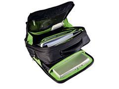 Leitz Smart Traveller Laptoptas, Rugzakmodel, 15.6 inch', 40 x 31 x 15 cm, Zwart met Groen