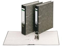Leitz 180° Ordner, Folio-formaat, Rugbreedte 80 mm, Karton, Zwart