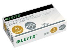 Leitz Power Performace P3 Nietjes, 24/6, Staal, Wit (pak 1000 stuks)