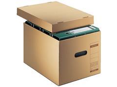 Leitz Archief/Transportdoos, Karton, 335 x 280 x 440 mm, Bruin (pak 10 stuks)