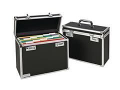 Leitz Secure Storage 20 hangmappenkoffer 20 hangmappen (A4), zwart