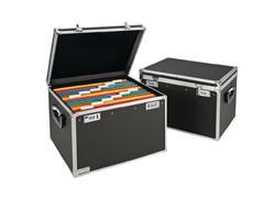 Leitz Secure Storage Hangmappenkoffer t.b.v. 30 Hangmappen A4, Zwart