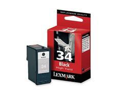 Lexmark Nr. 34 Inktcartridge, Zwart