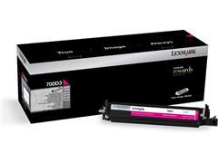 Lexmark 700D3 developer, 70C0D30, magenta