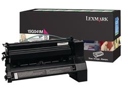 Lexmark 640 Toner, Single Pack, Zwart