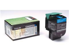 Lexmark C540 Toner, Single Pack, Cyaan