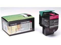 Lexmark C540 Toner, Single Pack, Magenta
