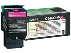 Lexmark C544 Toner, Single Pack, Magenta