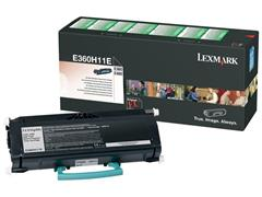 Lexmark E360 Toner, Single Pack, Zwart